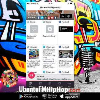 FREE UbuntuFM Hip-Hop Radio apps