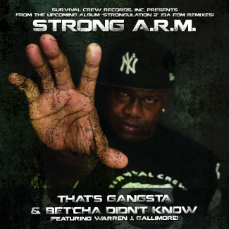 UbuntuFM Hip-Hop | Strong A.R.M | 'That's Gangsta'